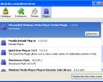 Screenshot Windows Media Player Plugin